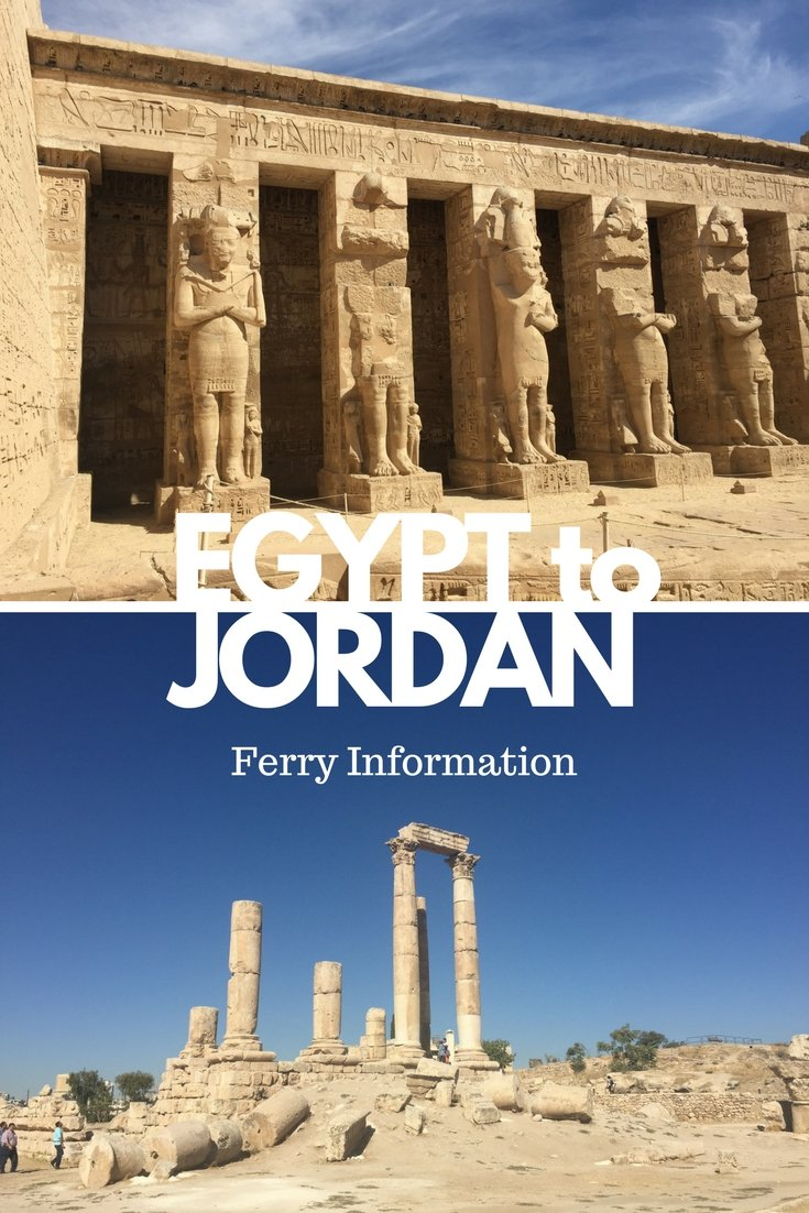 EGYPT to Jordan by Ferry | Everything you need to know about Aqaba & Nuweiba Travel | #egypt #jordan #ferry #travel #middleeast