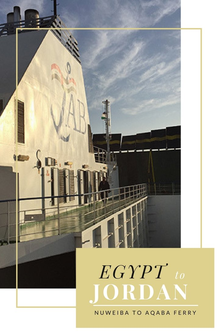 Information on Egypt to Jordan Nuweiba to Aqaba Route by Ferry