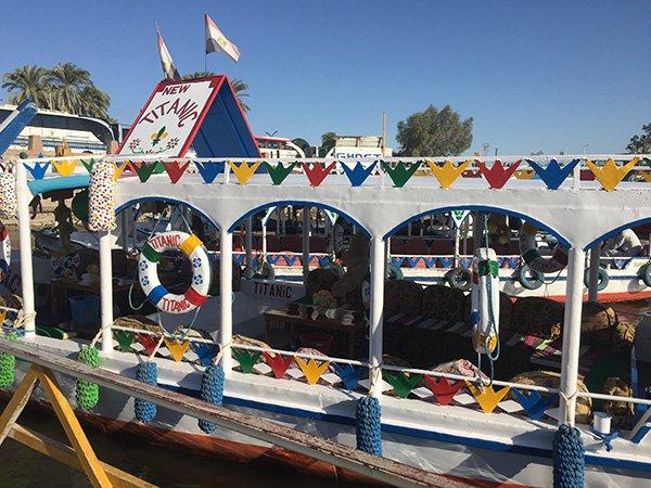 Luxor Egypt Nile Boat