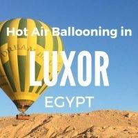 Luxor Hot Air Balloon Review Egypt