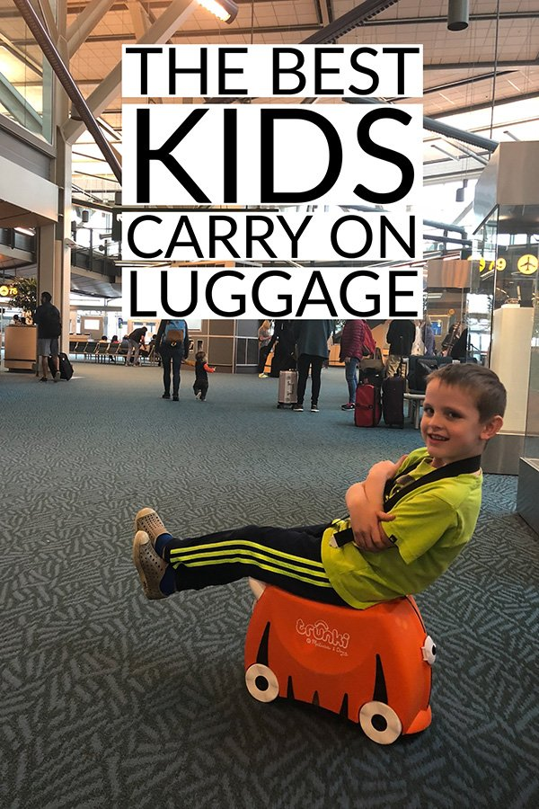 The Best Kids Carry on Luggage | trunki Suitcase | Carry on luggage air travel | Carry on Kids