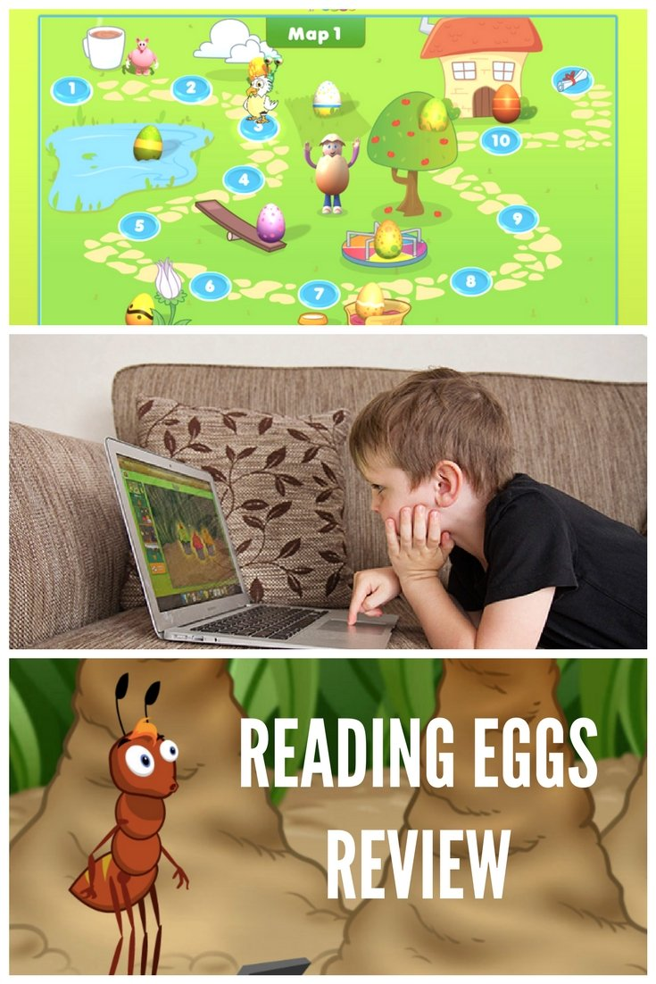Reading Eggs Review - Tools for Homeschooling, Traveling Families and those who want extra practice for their kids