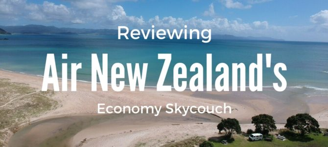 What is it Like to fly on Air NZ Skycouch?
