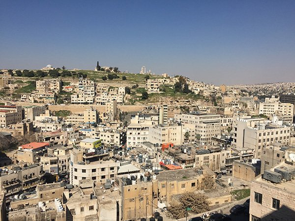 Unique things to do in Amman including visiting Wild Jordan for the views (and the food)