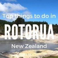 the Best Things to Do in Rotorua New Zealand | #geothermal #rotorua #newzealand #NZ | roadtriping new zealand | new zealand tips and travel