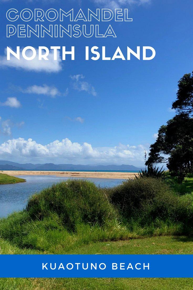 Kuaotuno Beach Coromandel Peninsula New Zealand | #newzealand #purenz #NZmustdo #NZ #beach