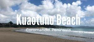 Kuaotuno beach new Zealand