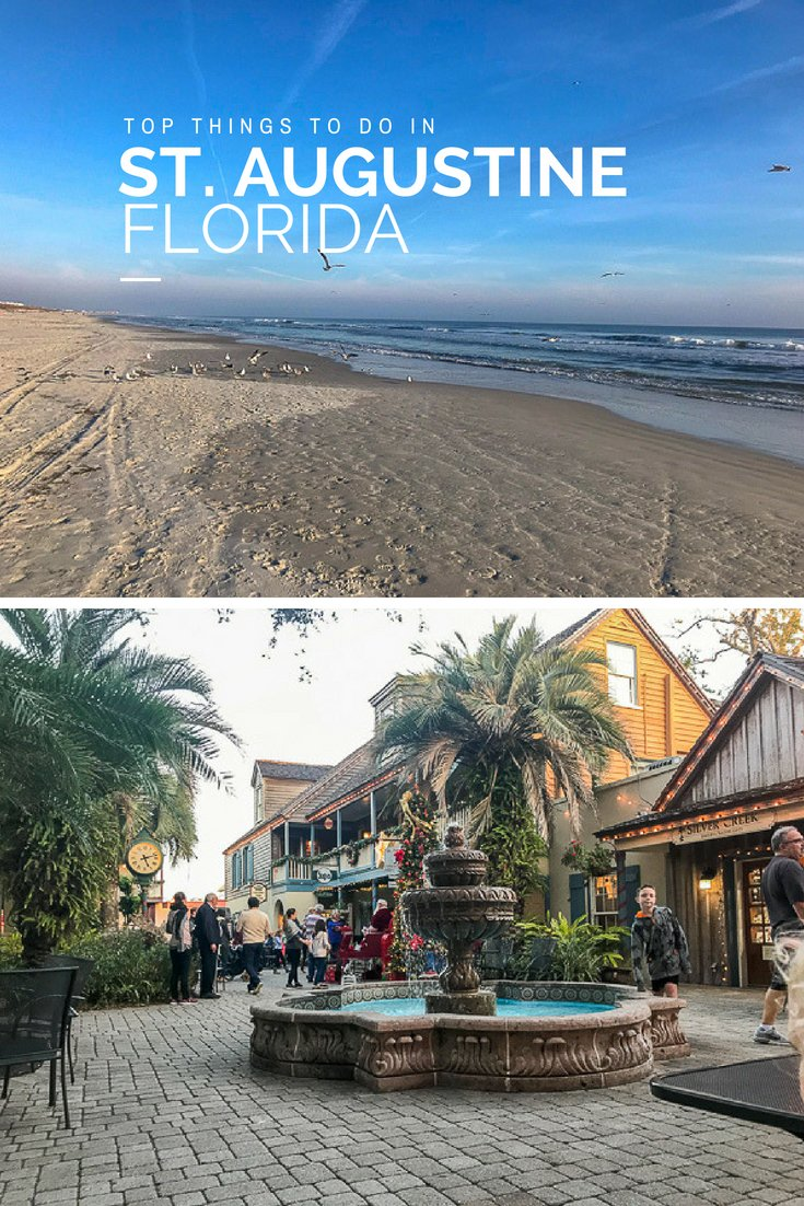 Top Things to do in St Augustine Florida | #florida #beaches #staugustine #familytravel