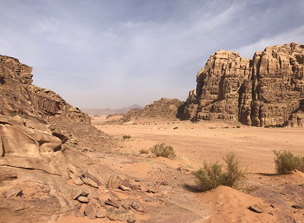 The Martian Landscape Wadi Rum Jordan
