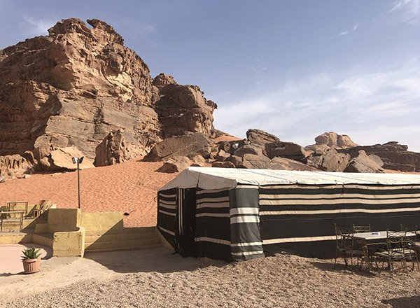 Dining Room Tent at Rum Magic Camp | Wadi Rum Jordan | Wadi Rum the Martian