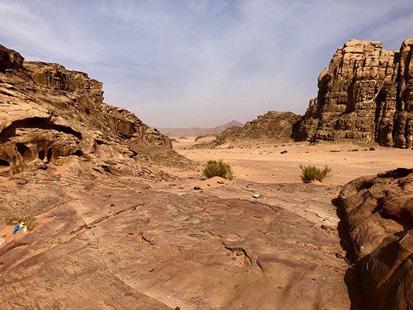 Wadi Rum Desert Garbage
