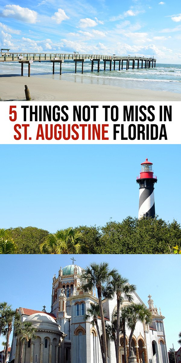 Top things to do in St Augustine FL