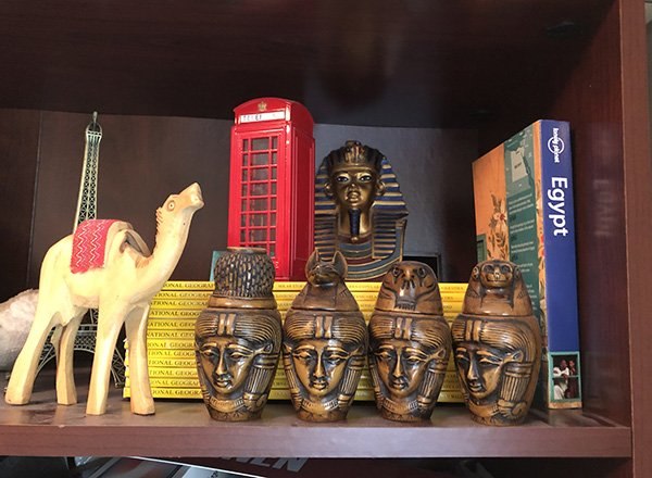 Canopic Jars from Egypt are one of the Top Things to Buy in Egypt
