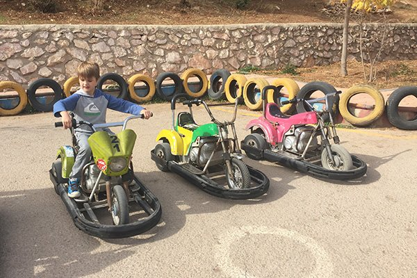 Fun Activities in Amman for kids includes Go Karts