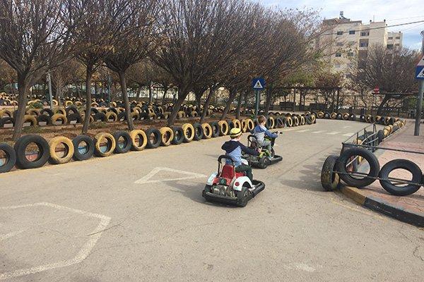 Go Karts at Sport City Amman