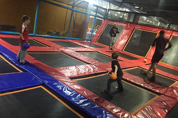 Dodge Ball Arena inside Gravity Amman