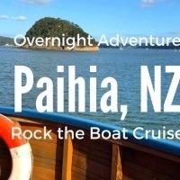 The Rock Overnight Adventure Cruise Paihia New Zealand