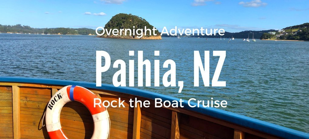The Rock Overnight Adventure Cruise Paihia New Zealand