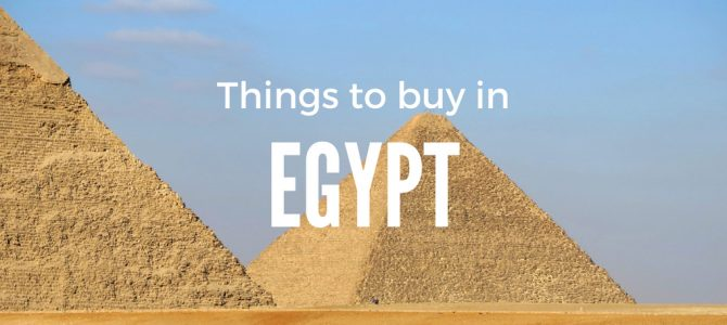 10 Things to Buy in Egypt