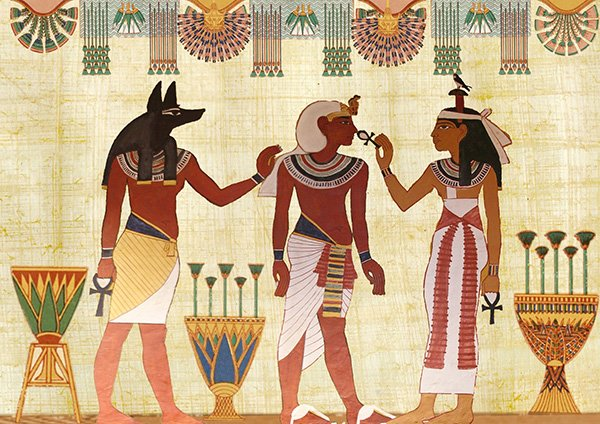 There are hundreds of beautiful Egyptian designs made on Papyrus