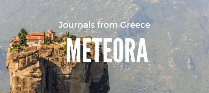 Greece First Impressions & Athens to Meteora