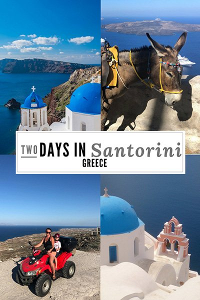 2 days in Santorini Itinerary | Best things to do in Santorini in 2 Days | Santorini Greece | things to do in Santorini | #travel #greece #santorini