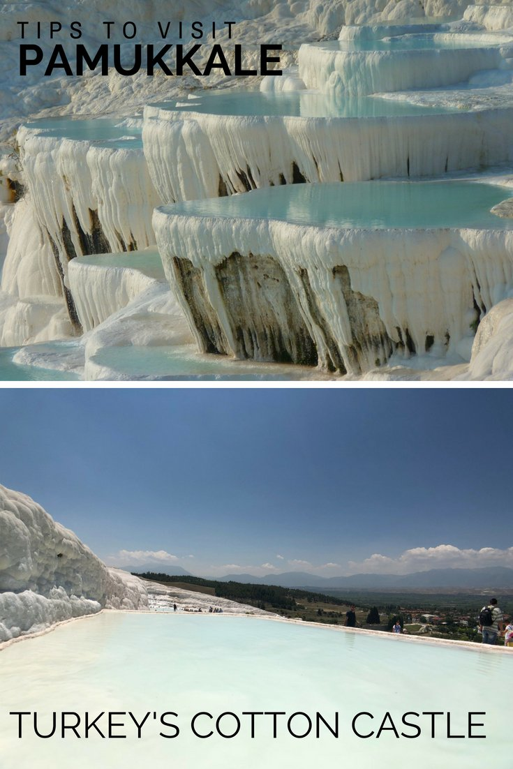 Visiting Pamukkale Turkey | Pamukkale Tips | Turkey Thermal Pools | How to get to Pamukkale | #travel #turkey #unesco #hotspring