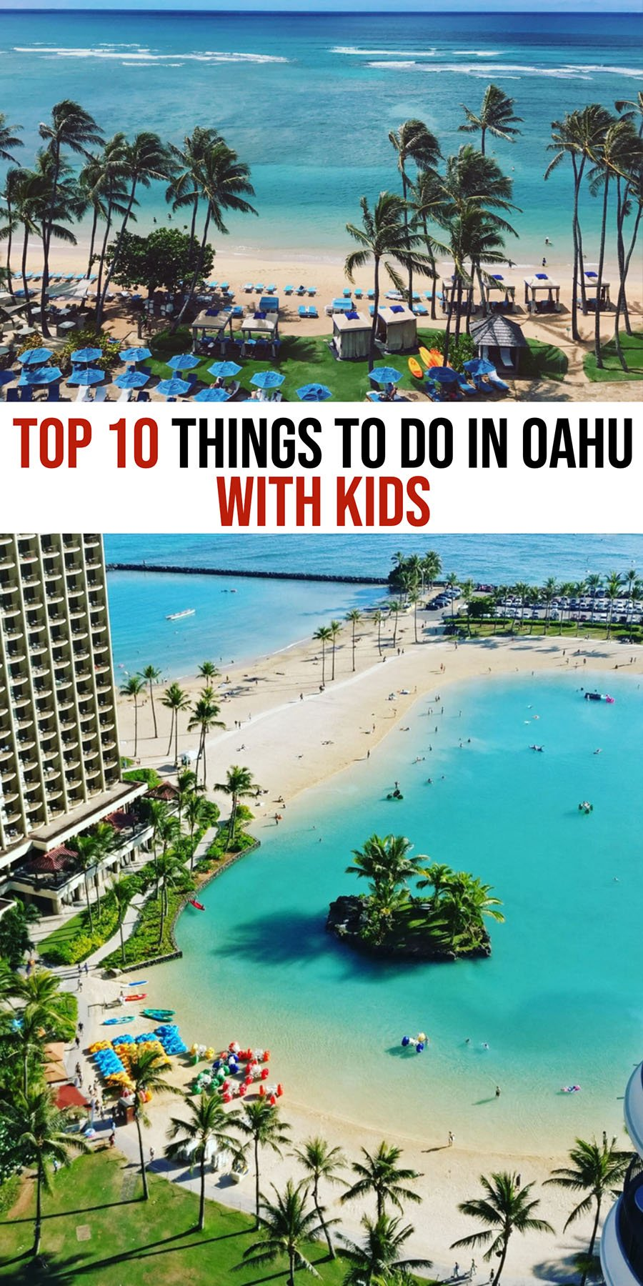 Things to do in Oahu with Toddlers