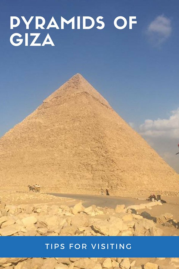 Tips for visiting the Pyramids of Giza | Things to know before visiting the Pyramids of Giza and Sphinx | Giza Egypt Tips | Visit Egypt | Cairo Pyramids | #egypt #cairo #giza #travel
