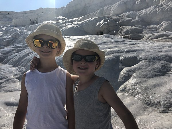 Pamukkale Tips - Wear sunglasses
