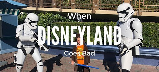When Disneyland goes Wrong: Visiting the ER instead of the Happiest Place on Earth