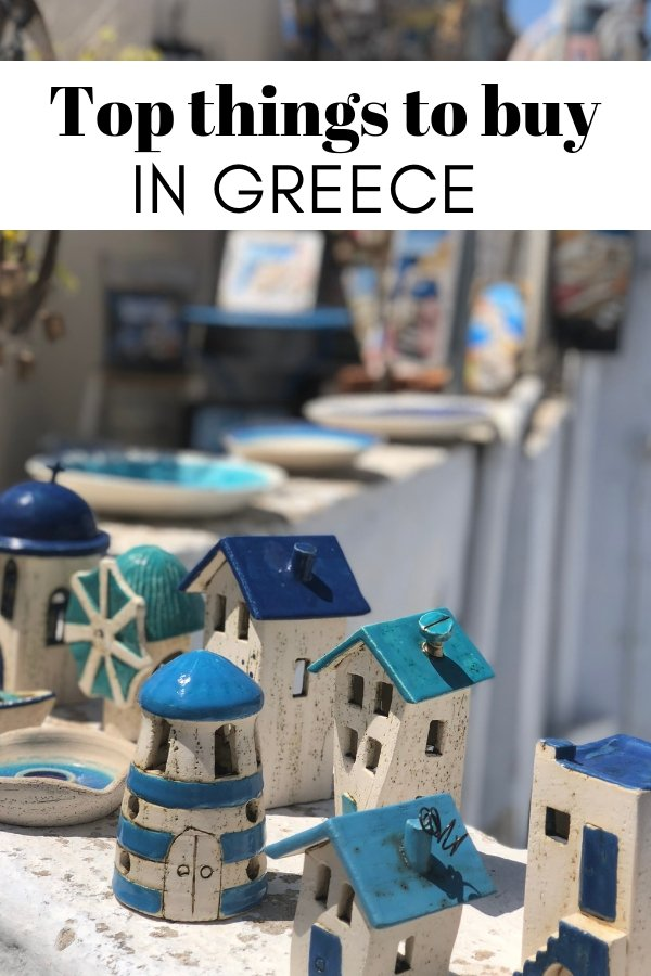 Greek Souvenirs | Things to buy in Greece | What to buy in Greece | #greece #santorini #athens #mykonos #travel