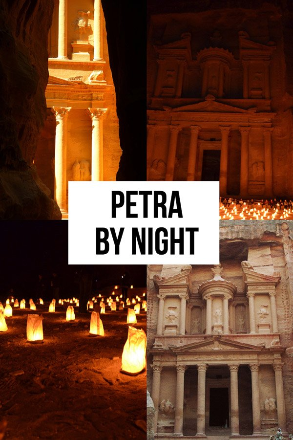 Petra By Night | Light Show in Petra | Petra Night Tours | Jordan Light Show