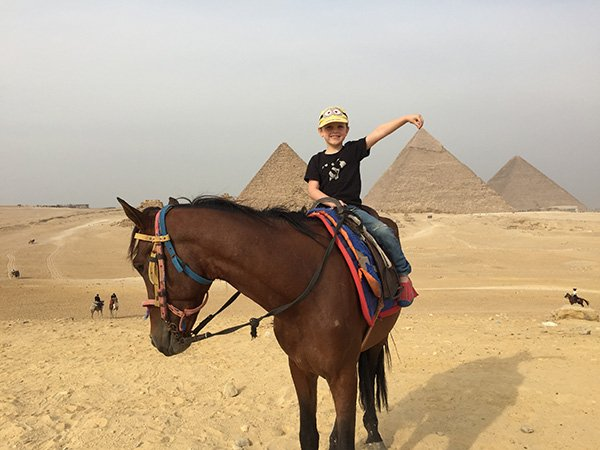 Riding Horses at the Pyramids of Giza Tips