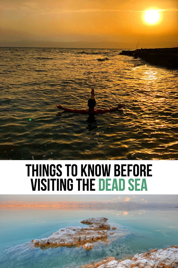 What to Expect at the Dead Sea Tips