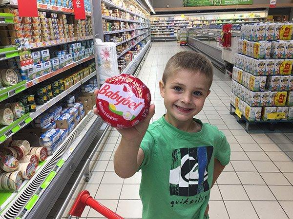 Cheese shopping in Paris