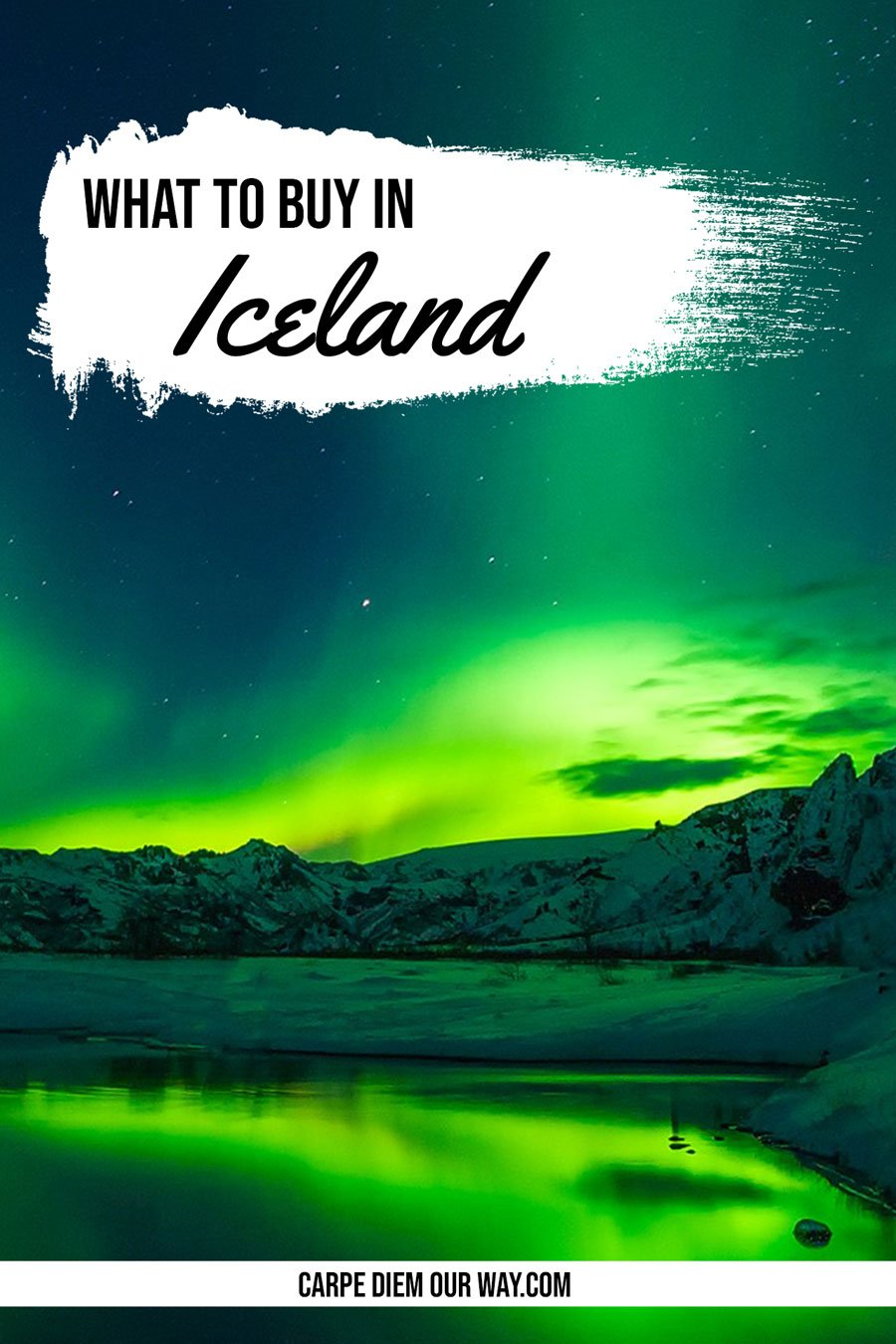 Best Products to Buy in Iceland