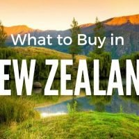 What to Buy in New Zealand