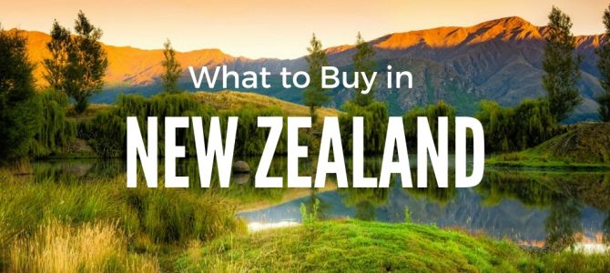 What to Buy in New Zealand: The Best NZ Souvenirs