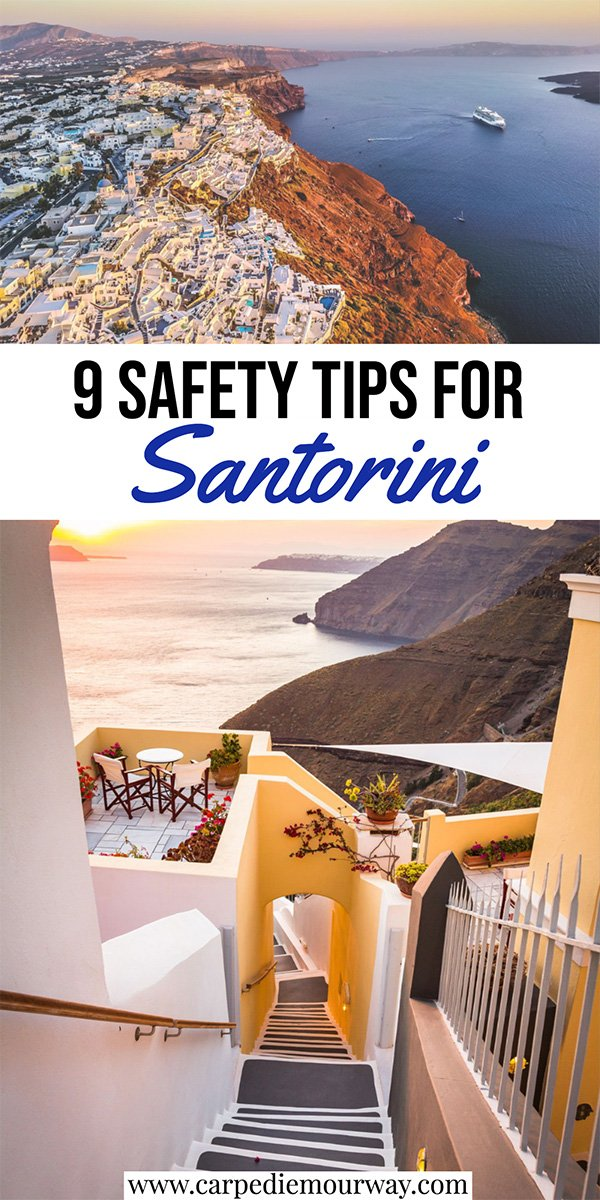 is santorini safe