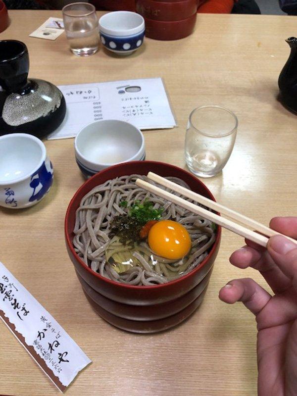 Buckwheat Soba Noodles in Izumo