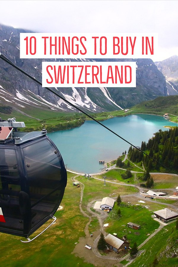 things to buy in Switzerland souvenirs