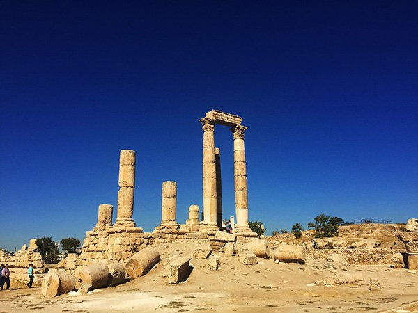 Five Days in Jordan Itinerary - Visiting the Amman Citadel