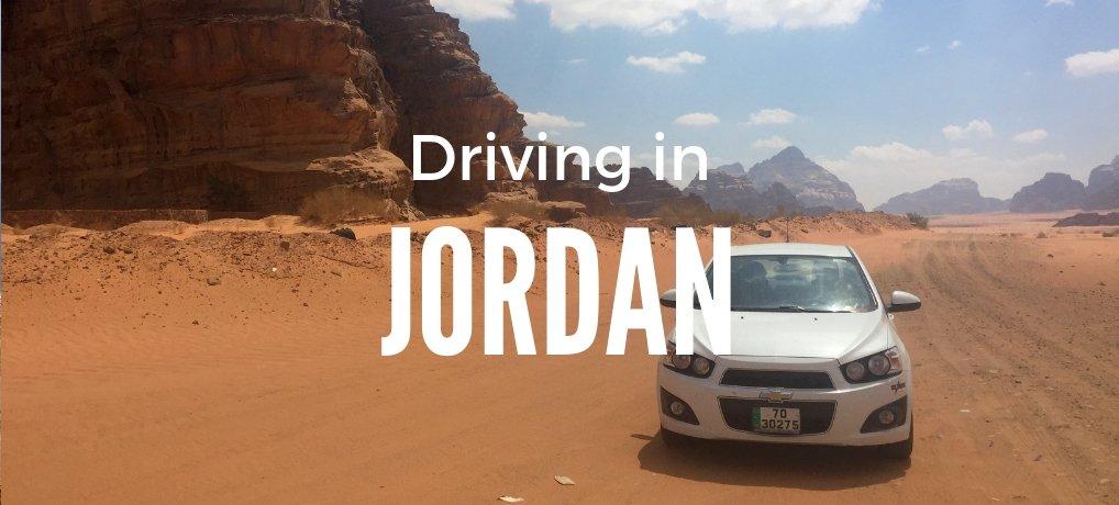Driving In Jordan | Driving in Amman Jordan | Car in Wadi Rum Jordan
