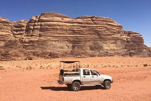 Wadi Rum Driving