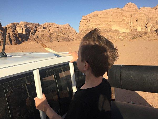 Wadi Rum Driving Jordan