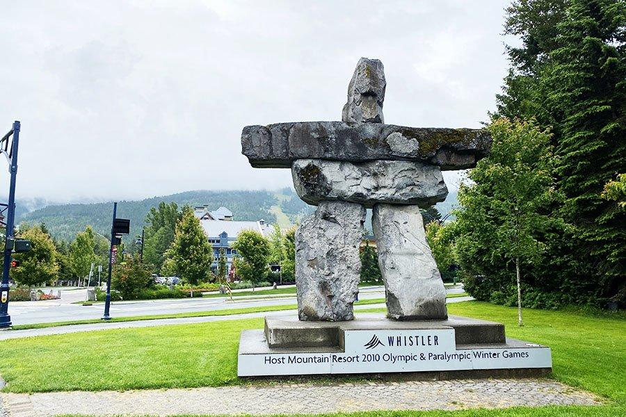 Inukshuk - Whistler, Vancouver Canada