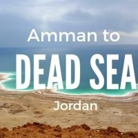 Amman to Dead Sea Bus Taxi and Transportation Options