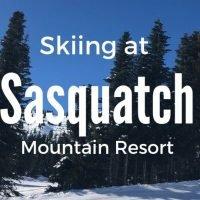 Skiing at Sasquatch Mountain