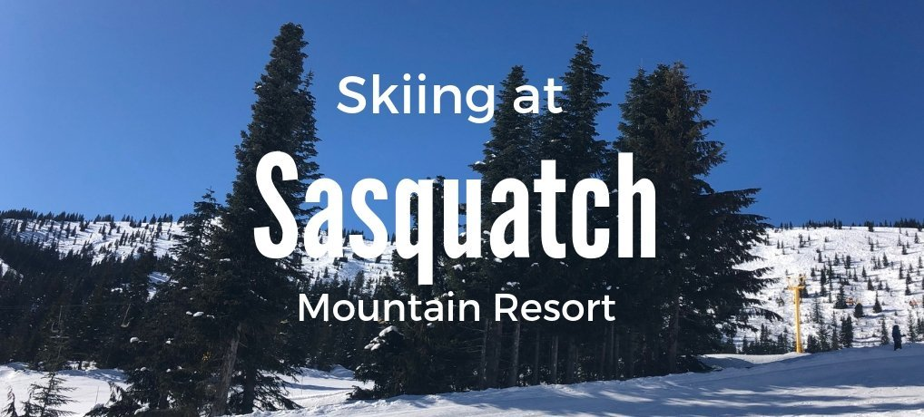 Skiing at Sasquatch Mountain
